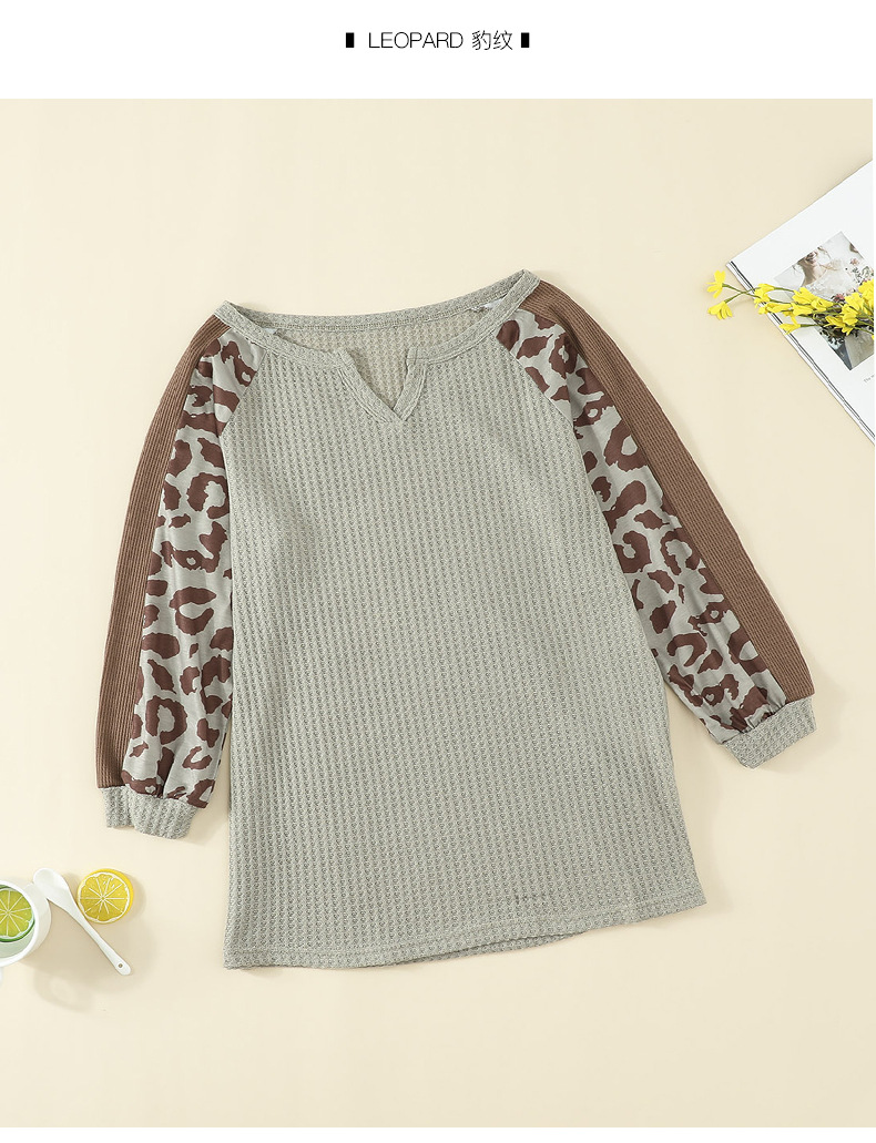fashion leopard print sweater for women NSSI2332