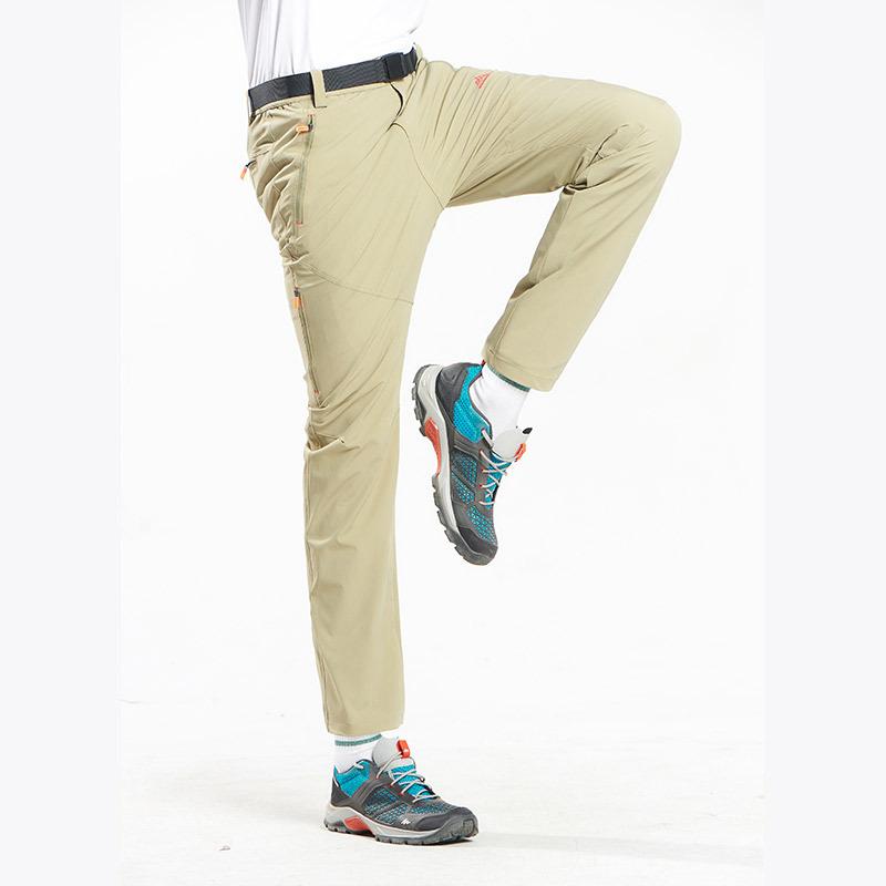 速干裤男夏季薄款冲锋裤弹力登山裤户外宽松透气男女运动裤长裤