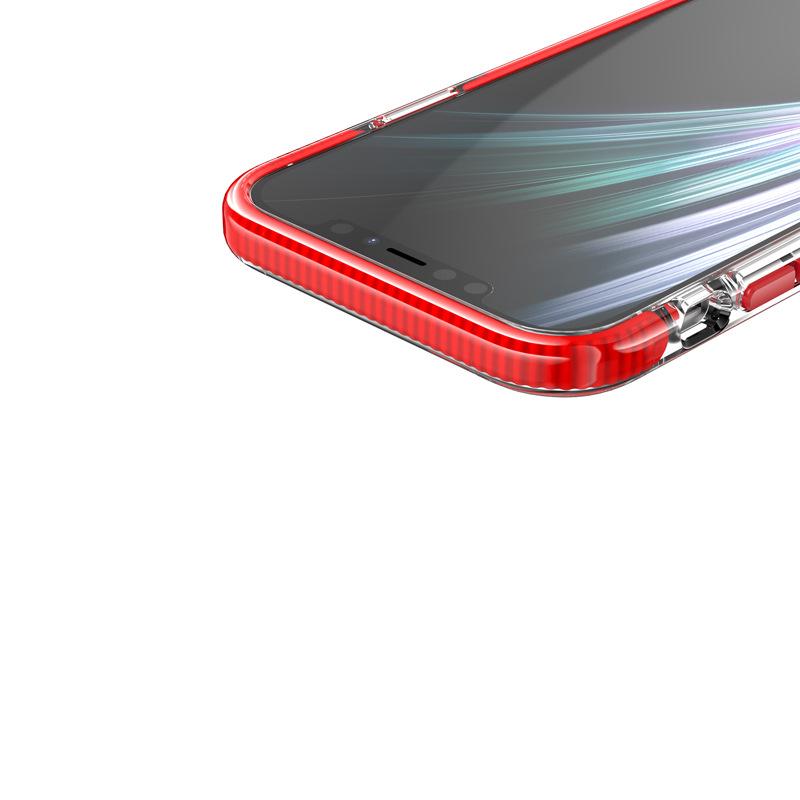 品美廉 適用IPHONE 12 11 高透雙色不易黃TPU+TPE加厚防摔防震手機殼軟iPhone保護殼手機保護套防摔殼現貨全新   Yahoo奇摩拍賣