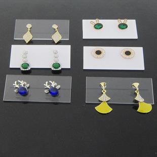 Transparent Acrylic Earrings Stand Pin Earrings Earrings Storage Display Board Jewelry Storage Display Props