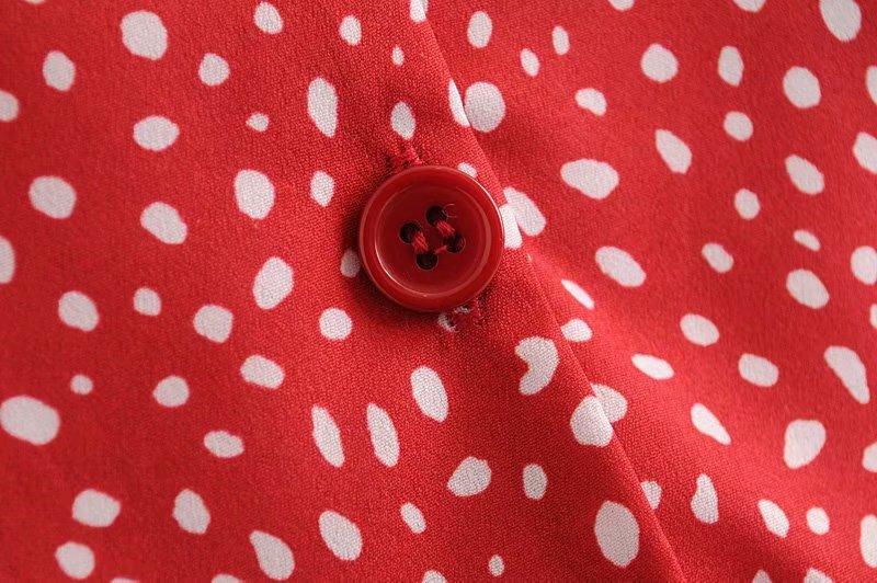 Wholesale Buttoned Flower Soft Short Sleeve Shirt NHAM196385