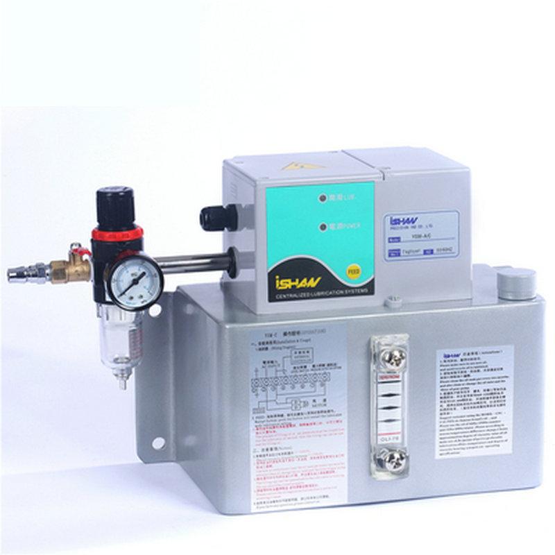 裕祥ISHAN工厂供应YSM-C喷雾式注油机气动外接PLC控制油雾润滑泵