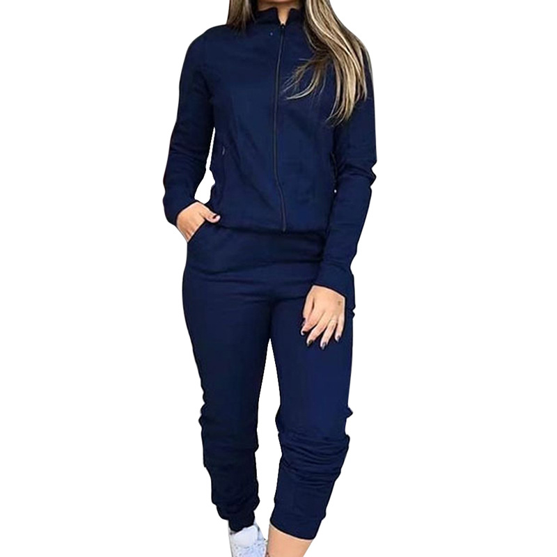 autumn and winter new women's casual suit two-piece suit NSYF856