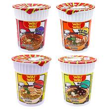 泰国进口WAIWAI 方便面杯面批发 国外速食即食食品 东南亚热卖60g