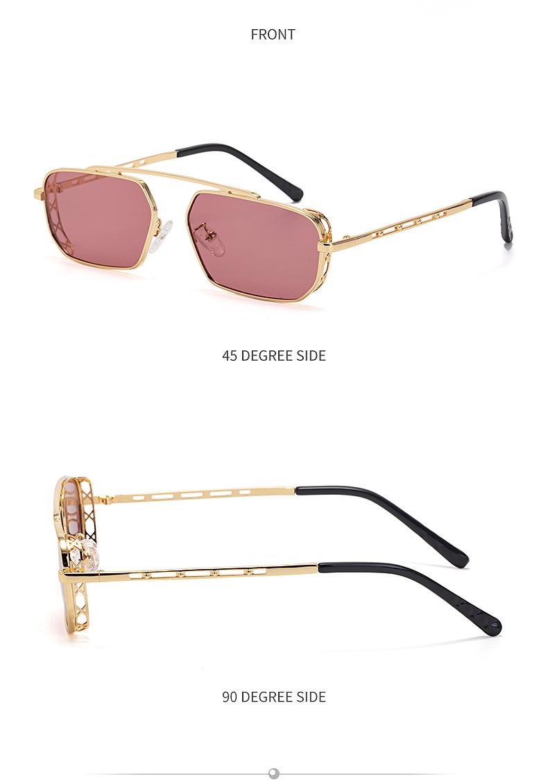 new fashion style hollow frame  sunglasses NHLMO340341