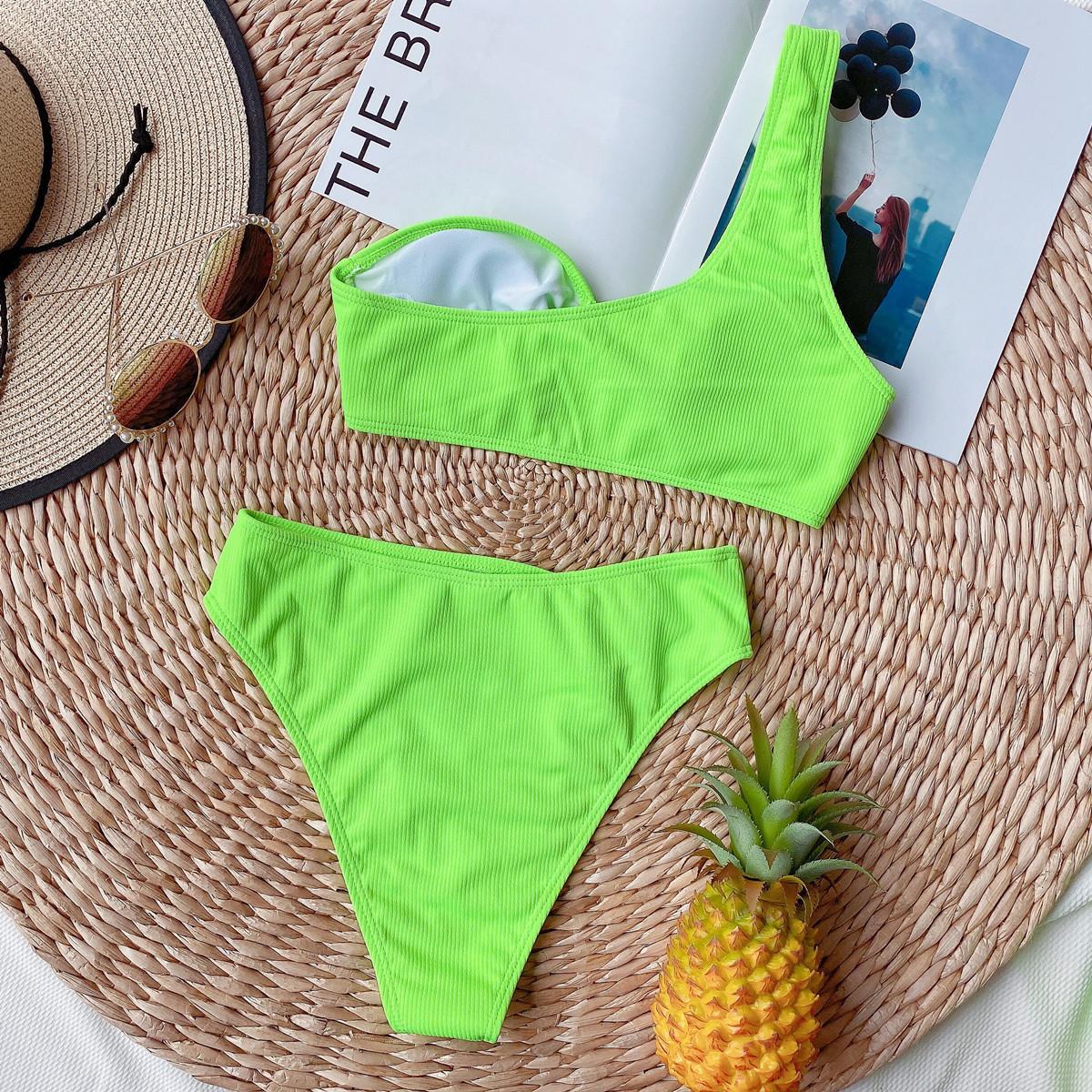 new swimsuit hot sale bikini ladies split swimwear for women NSDA1000