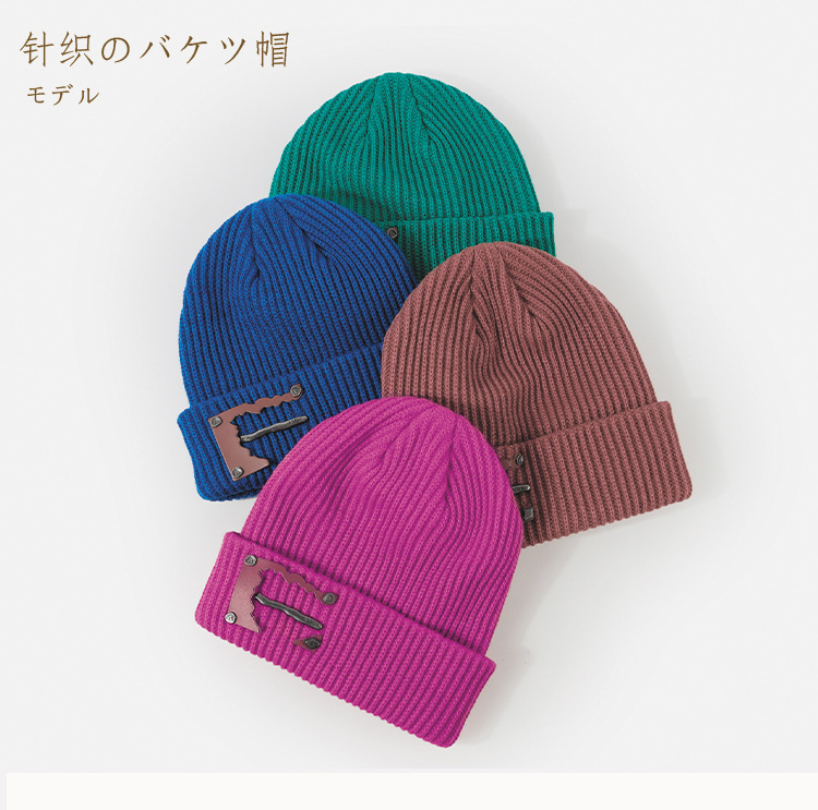 blue knit hat  NHTQ288075