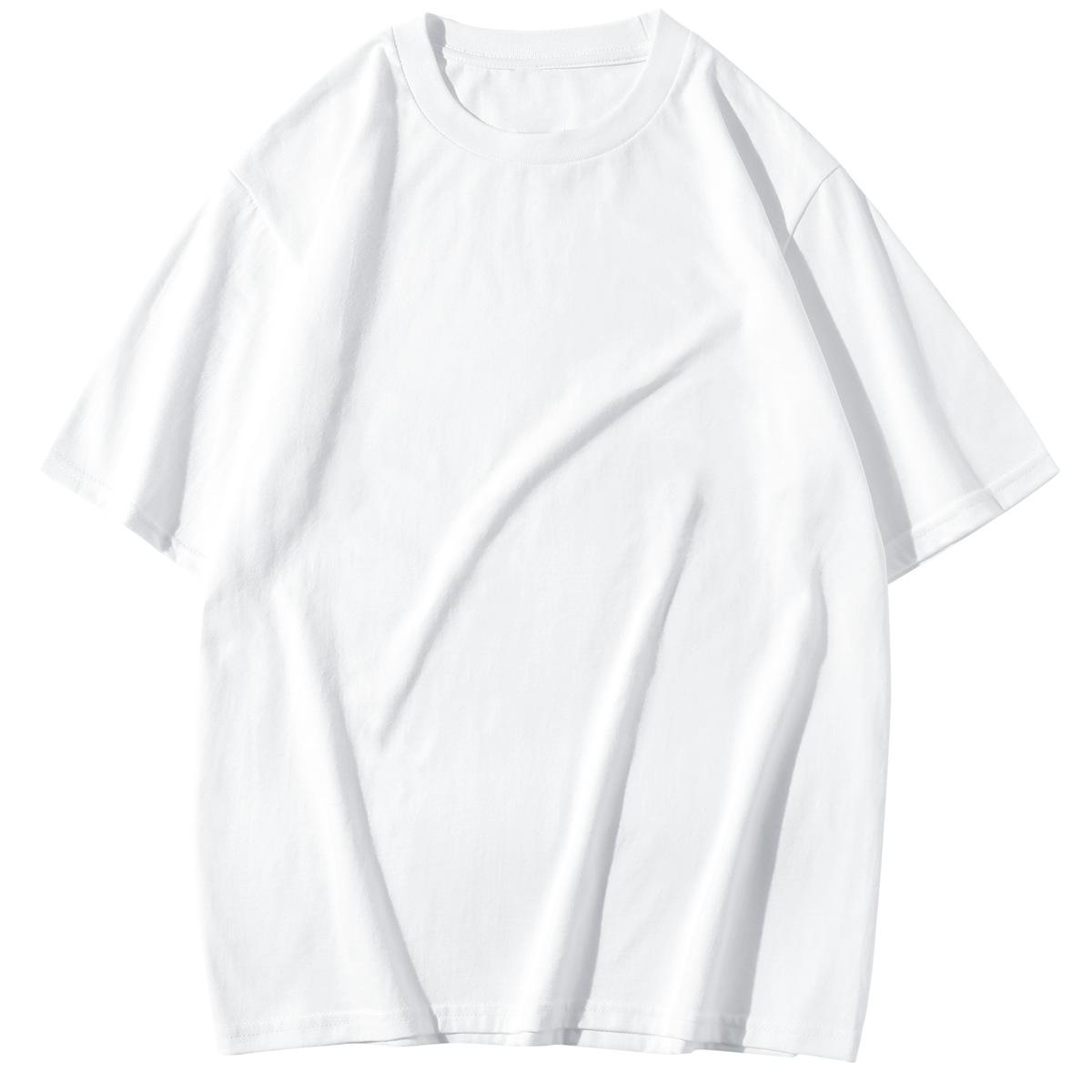 LVLV 220克短袖T恤潮圆领T恤 美码男打底衫 跨境速卖通亚马逊