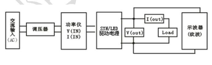 led智能电源驱动测试原理图