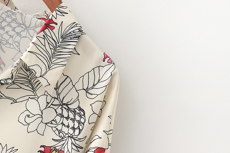 Fashion new summer plus size printed blouse tops for women wholesale NHAM241374