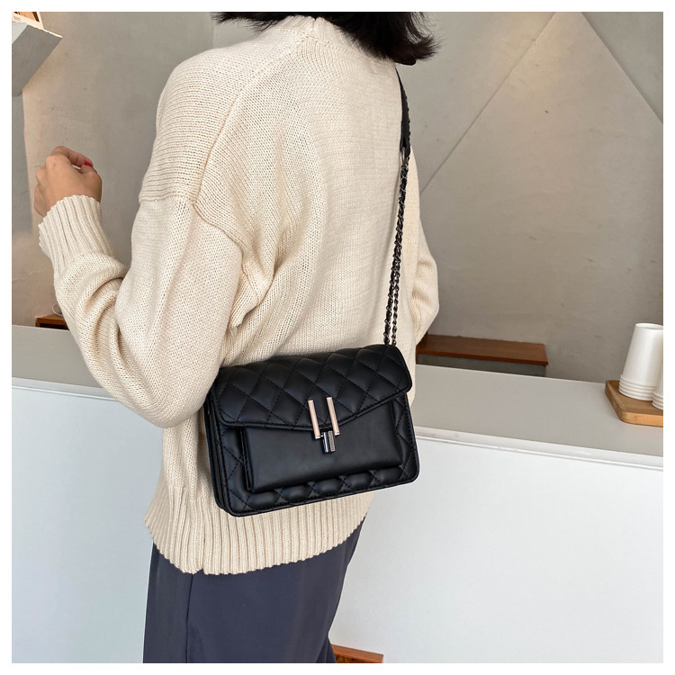 Hot selling fashion chain small square bag single shoulder messenger bag NHTC260125