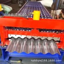定制彩钢压瓦机 780型铝板圆弧压瓦机 彩钢全自动机械冷弯成型机