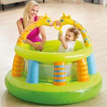 INTEX 48474儿童充气城堡玩具室内外小型家用蹦蹦床淘气堡跳跳床