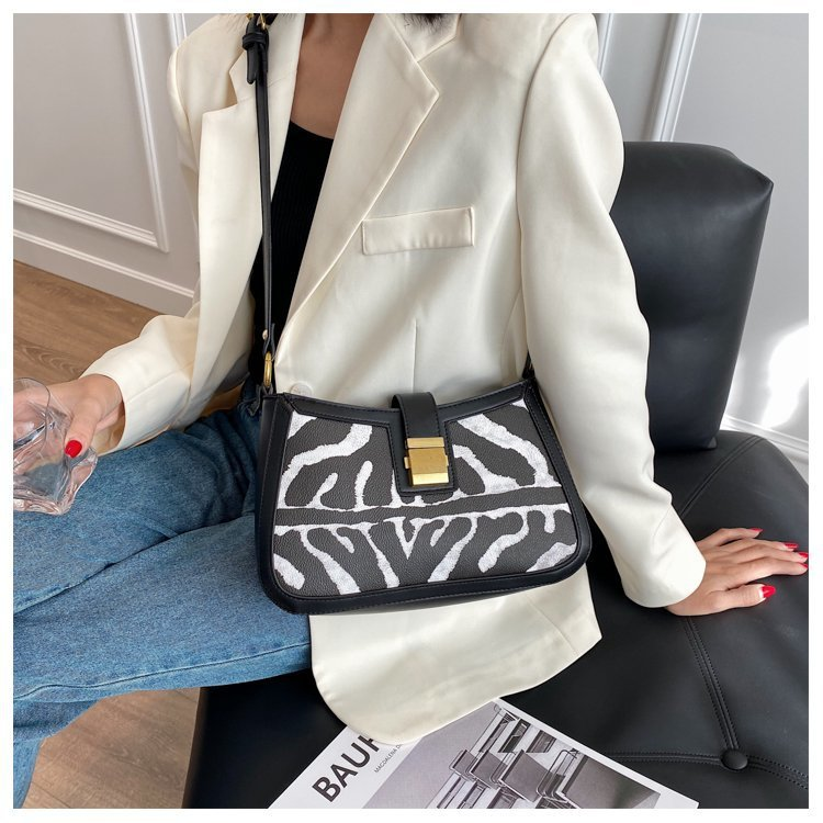 new trendy wild  double shoulder strap underarm small square bag  NHJZ270435
