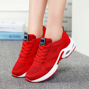 1727 single mesh hollow women's sports shoes breathable casual shoes women's mesh shoes 43 air cushion shoes large size 41 42