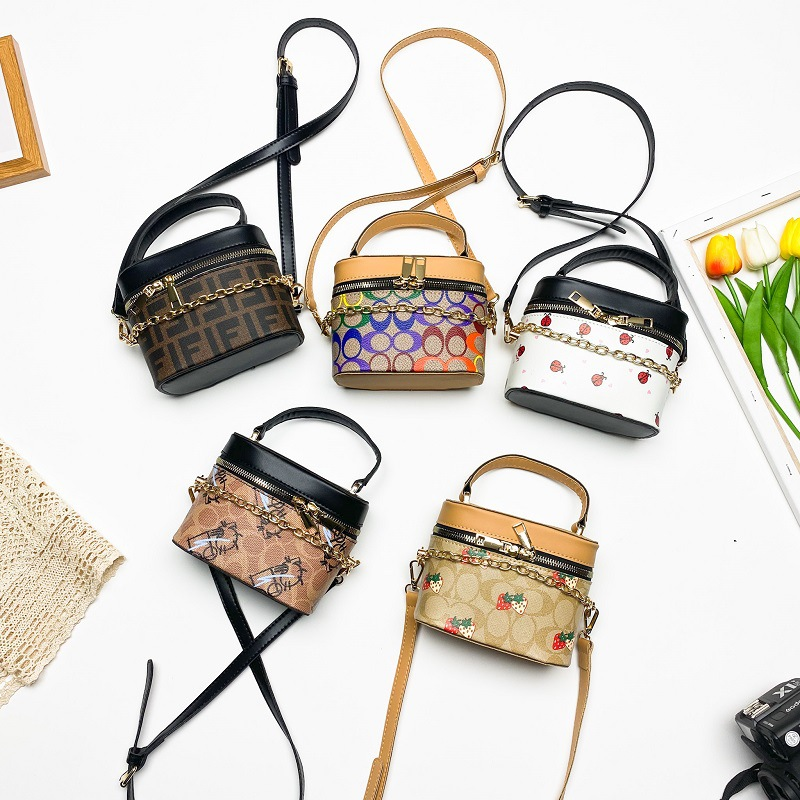 2021 children's bags fashion new Korean...