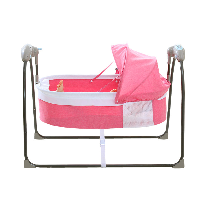 Baby electric rocking chair electronic  swing bed电动摇床