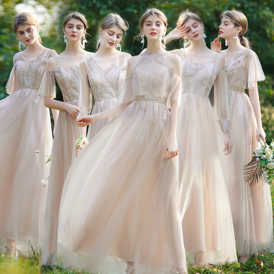 Bridesmaid Dress Wedding Bridesmaid Dress sister group graduation party evening dress