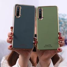 Ốp điện thoại Oppo Reno 4, thiết kế đơn giản, màu sắc trẻ trung