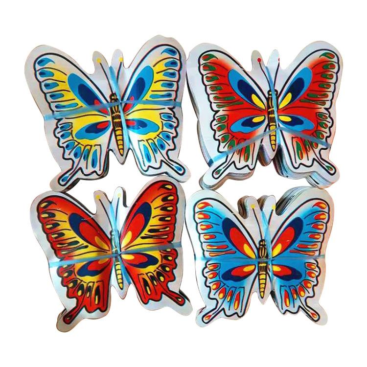 殡葬花圈材料15公分花丙料蝴蝶 一捆1000张 10捆一提 殡葬用品