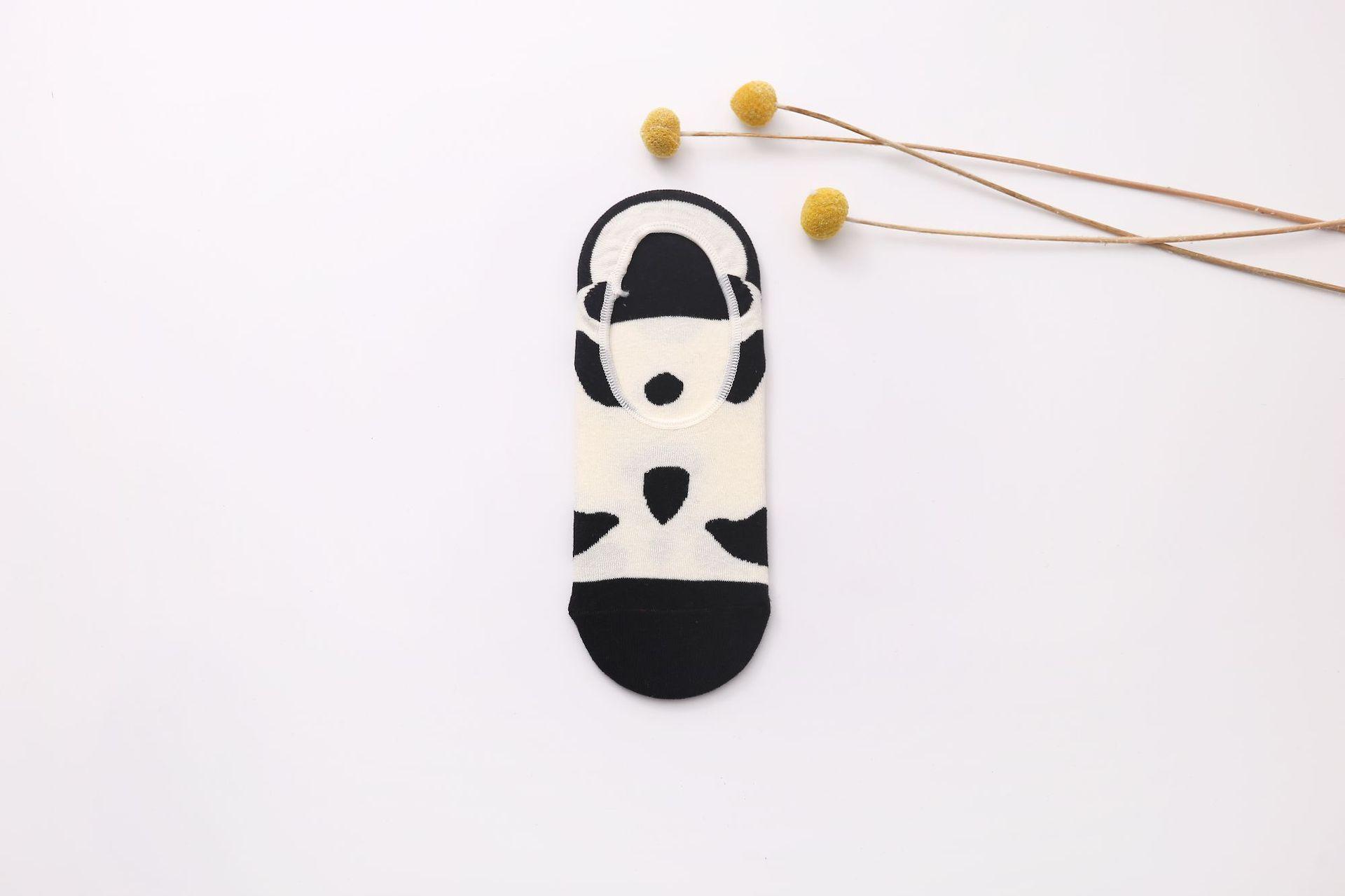 袜子女春夏新款原创卡通韩版低帮浅口防滑隐形袜厂家直销