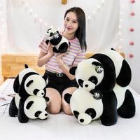 Прямые продажи с фабрики, гигантская кукла-панда, плюшевая большая детская тряпичная кукла, подарок на заказ, игрушка для ночного рынка