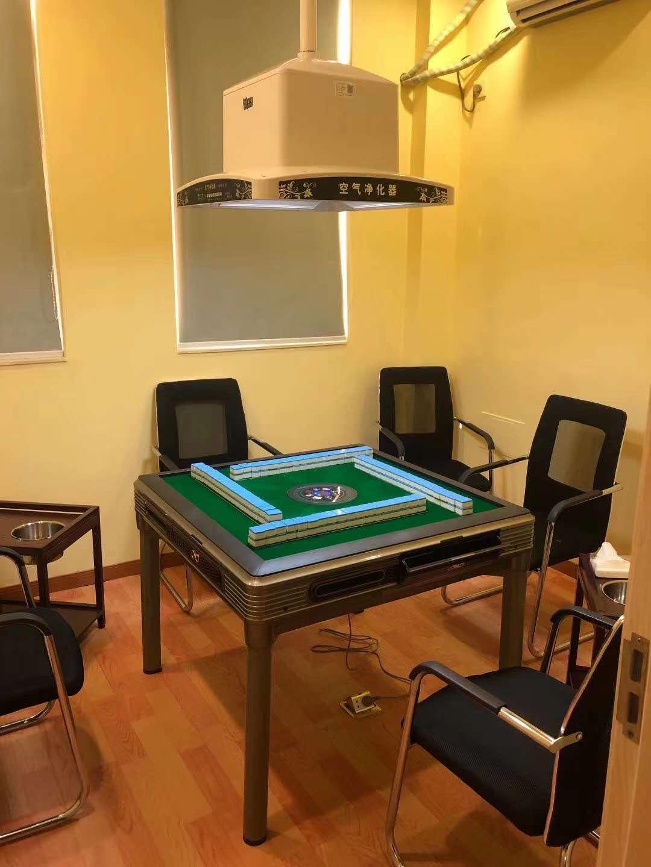 正品棋牌娱乐桌游净化器全自动麻将机净化器棋牌专用遥控净化器
