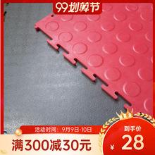 PVC塑料地板 耐磨耐压优质车间车库PVC塑料地板 修理厂地板翻新