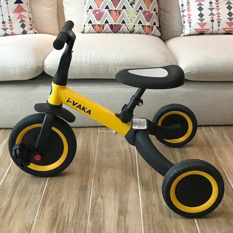 厂家直供儿童三轮车手推车脚踏车轻便小孩宝宝婴儿幼童滑行车代发