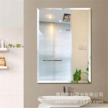 镜片工厂定制加工浴室防水银镜化妆单双铝镜耐腐蚀无铜卫生间镜子