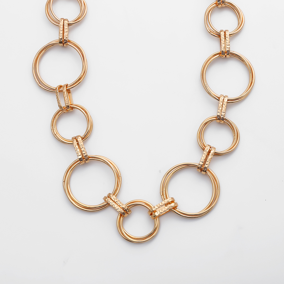 fashion jewelry sexy long tassel body chain retro multilayer ring geometric hollow waist chain wholesale nihaojewelry NHXR221297