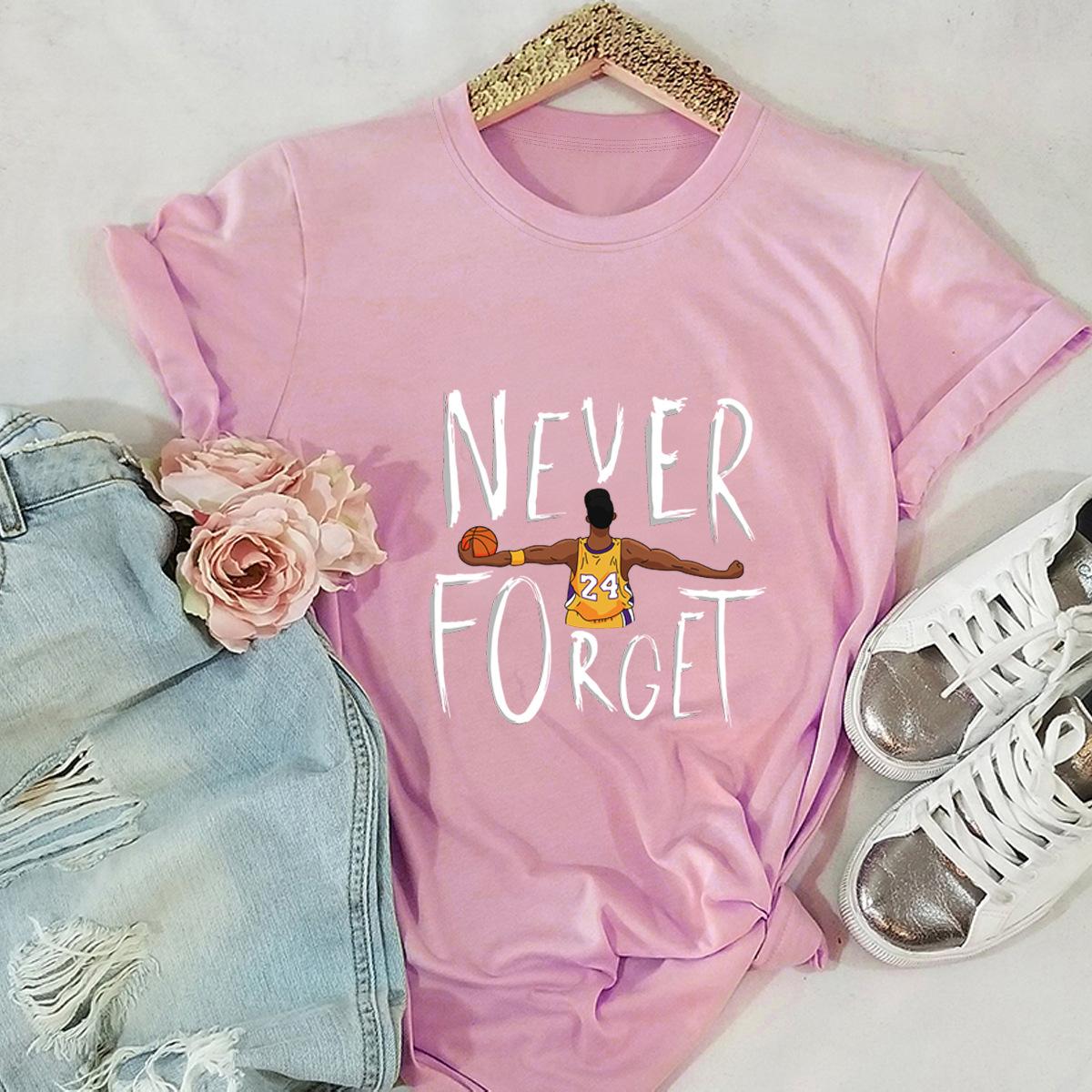 women's casual commemorative nostalgic short-sleeved T-shirt NHSN264208