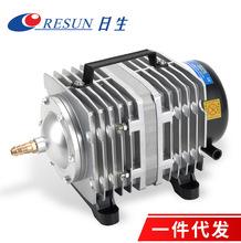 厂家直销日生ACO电磁式增氧气泵鱼缸氧气泵养鱼打氧机海鲜增氧机