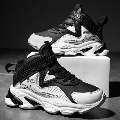 货源男童运动鞋2020春秋新款中大童男孩鞋子韩版小学生篮球鞋一件代发批发