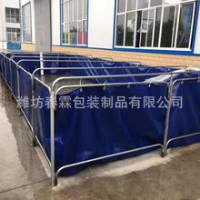 厂家直销PVC支架水池 PVC游泳池 软体塑料养鱼池 pvc支架水池水箱
