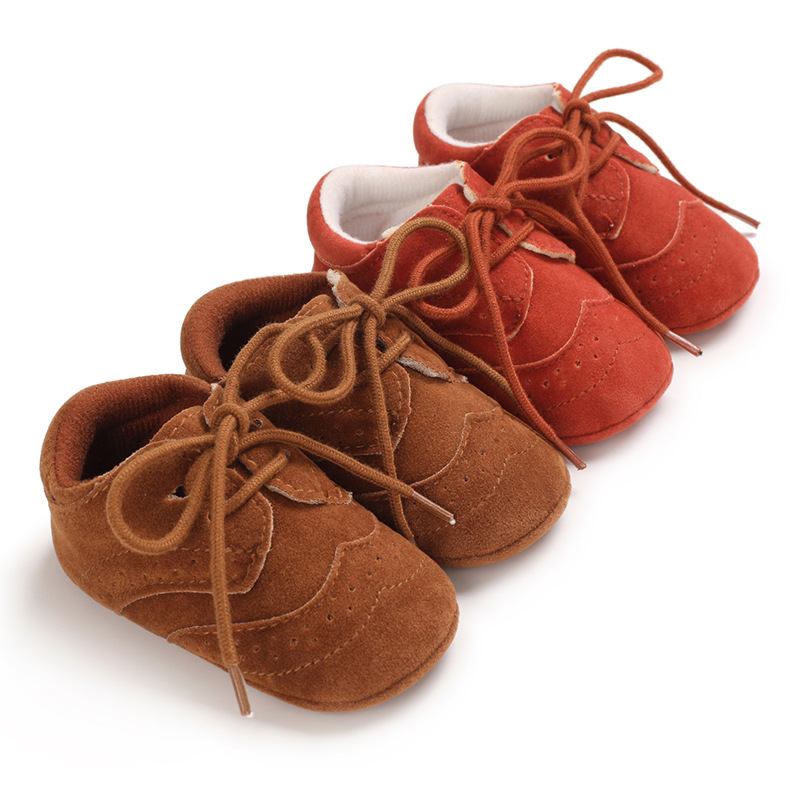 Baby shoes spring and autumn models 0-1 year old baby shoes for men and women with non-slip rubber sole casual toddler shoes
