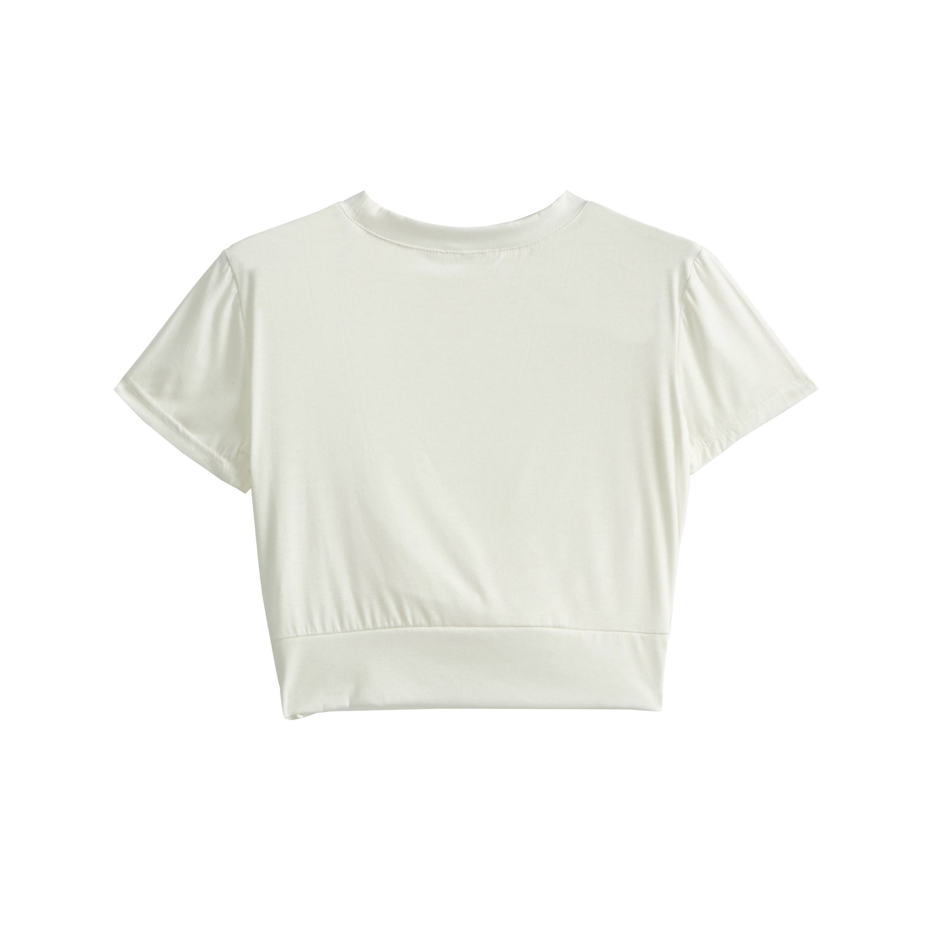 solid color short-sleeved loose quick-drying sports T-shirt   NSRMA54211
