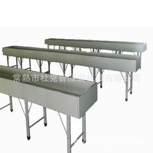 服装厂专用流水台,组合式流水槽 流水线台板 平面缝纫机马槽凹槽