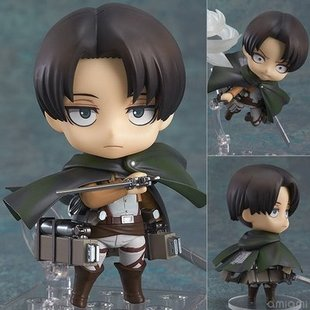 Anime Figure Wholesale Q Version Clay Attack on Titan 390 Captain 375 Allen Figure