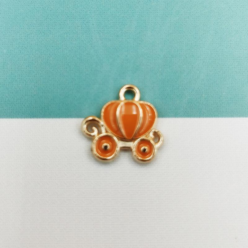 goods alloy drip small pendant mosquito repellent bracelet pendant Korean fashion jewelry pendant DIY accessories wholesale nihaojewelry NHDI225786