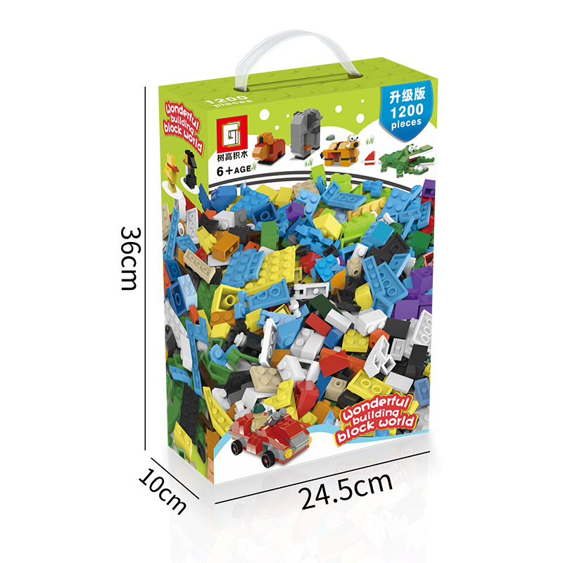 1000 جزيئات صغيرة من كتل البناء الأسترالية متوافقة مع مشهد تجميع لغز ليغو للأطفال