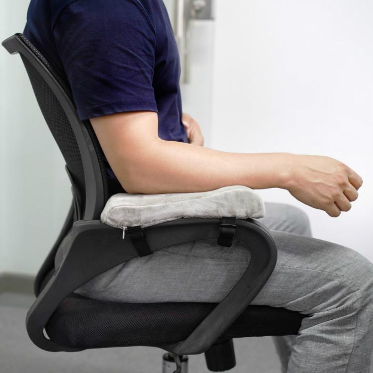 亚马逊爆款 办公座椅扶手垫海绵垫 慢回弹记忆棉扶手 椅子扶手垫