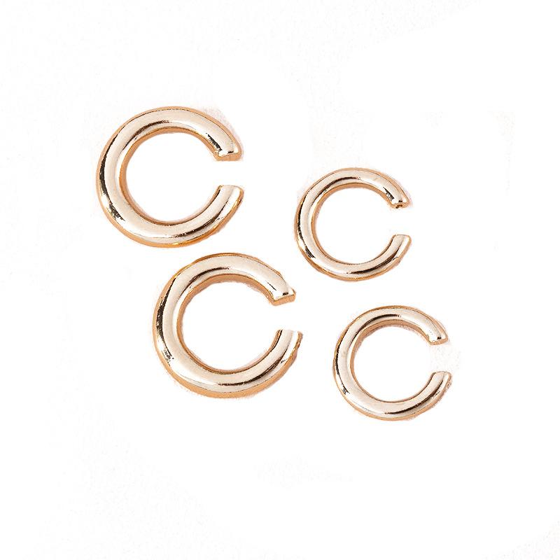 new ear bone clip earrings simple no pierced ear clip wholesale NHAI252775