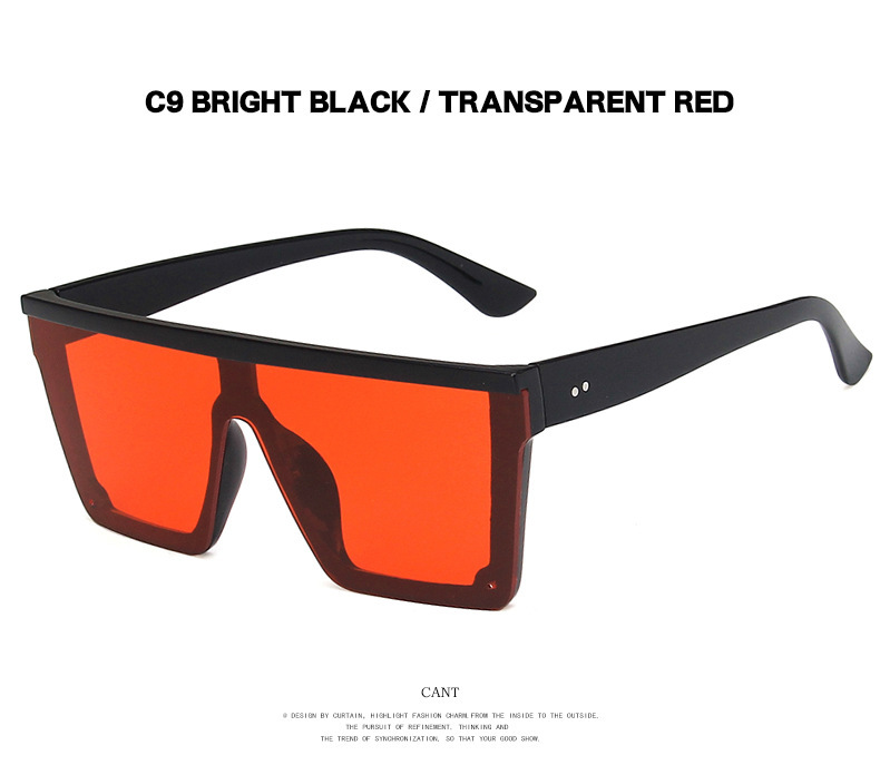 New fashion trendy square sunglasses mens ocean film ladies sunglasses  wholesale NHBA237697
