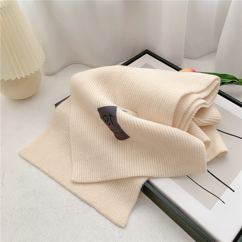 simple knitted wool scarf  NHCM285296
