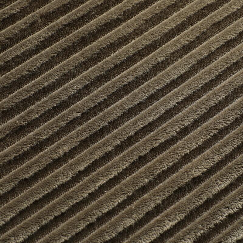 厂家直销日式条纹法兰绒加厚地毯卧室客厅防滑家用床边地垫可代发