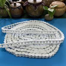 四川耀炜塑胶专业供应耐腐蚀 PP材质传动链条 pp塑料传动链条