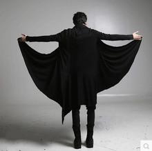 秋季暗黑系男裝過膝長風衣巫師袍子黑暗魔法師斗篷大衣巫師外套夏