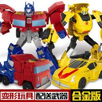 Легированная версия деформируемой игрушки King Kong Optimus M-pillar big d Wasp robot модель автомобиля ребенок мальчик подарочная коробка