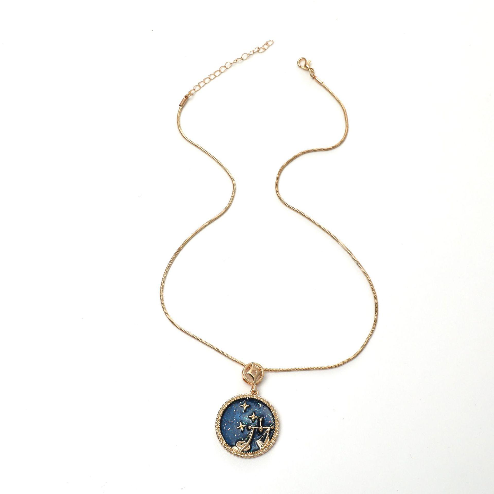 Twelve constellation necklaces  NHKQ283448